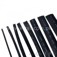 2mm Black Heat-shrink shrinkable tube (1Meter)