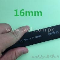 16mm Black Heat-shrink shrinkable tube (1Meter)