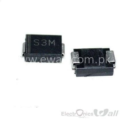 3A S3M SMB Diode 1N5408 1000V