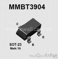 0.2A/40V MMBT3904 NPN Switching Transistor Mark: H1A pacakge: SOT23-3