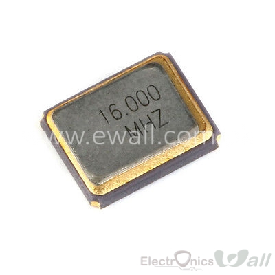 16Mhz SMD Crystal 3225 3.2x2.5 Crystal Oscillator  4-Pin /patch