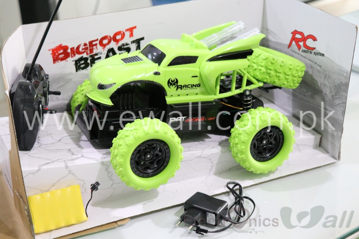 1/12 Scale Big Foot Beast Car off road Green Colour