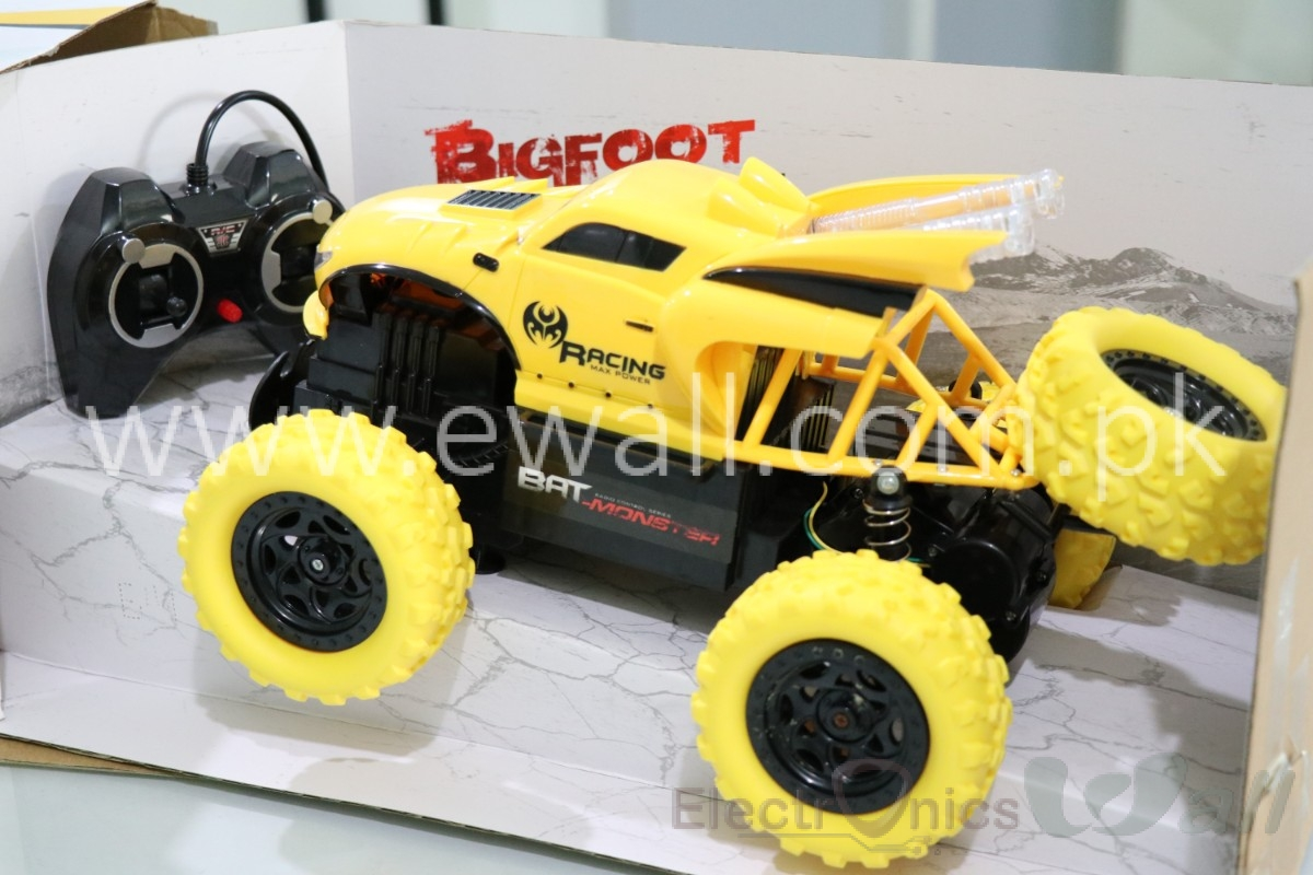 1/12 Scale Big Foot Beast Car off road Yellow Colour