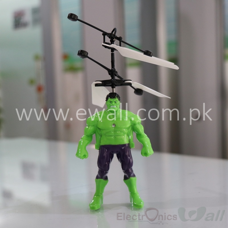 RC Helicopter type flying huak hulk
