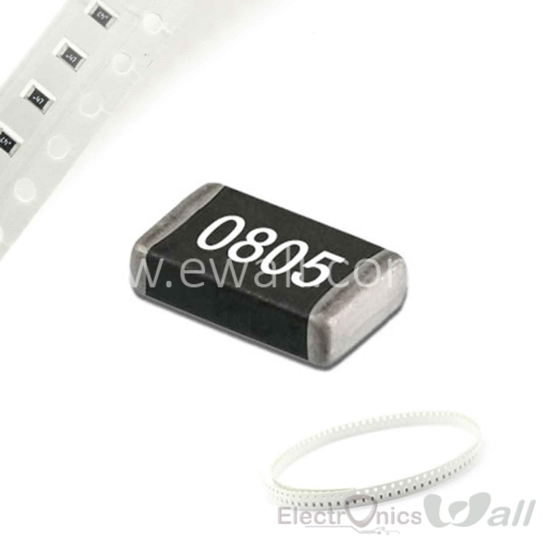 10pcs 1M 1% 0805 SMD Resistor 1Mega ohms (Mark 1004 / 105) (10pcs Pcs Strip)