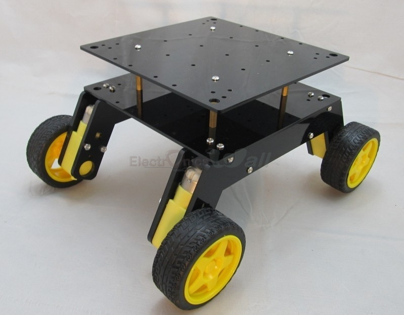 Off-Road 4WD Robotic chassis Platform