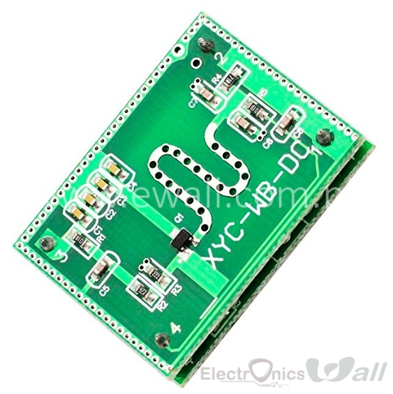 2.25GHz Microwave Radar Detector Module Detection Range 6-9M Smart Sensor Switch Home Control 3.3-20V DC