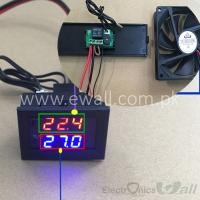 Digital Thermostat Adjustable Temperature Control Module with Display 12V