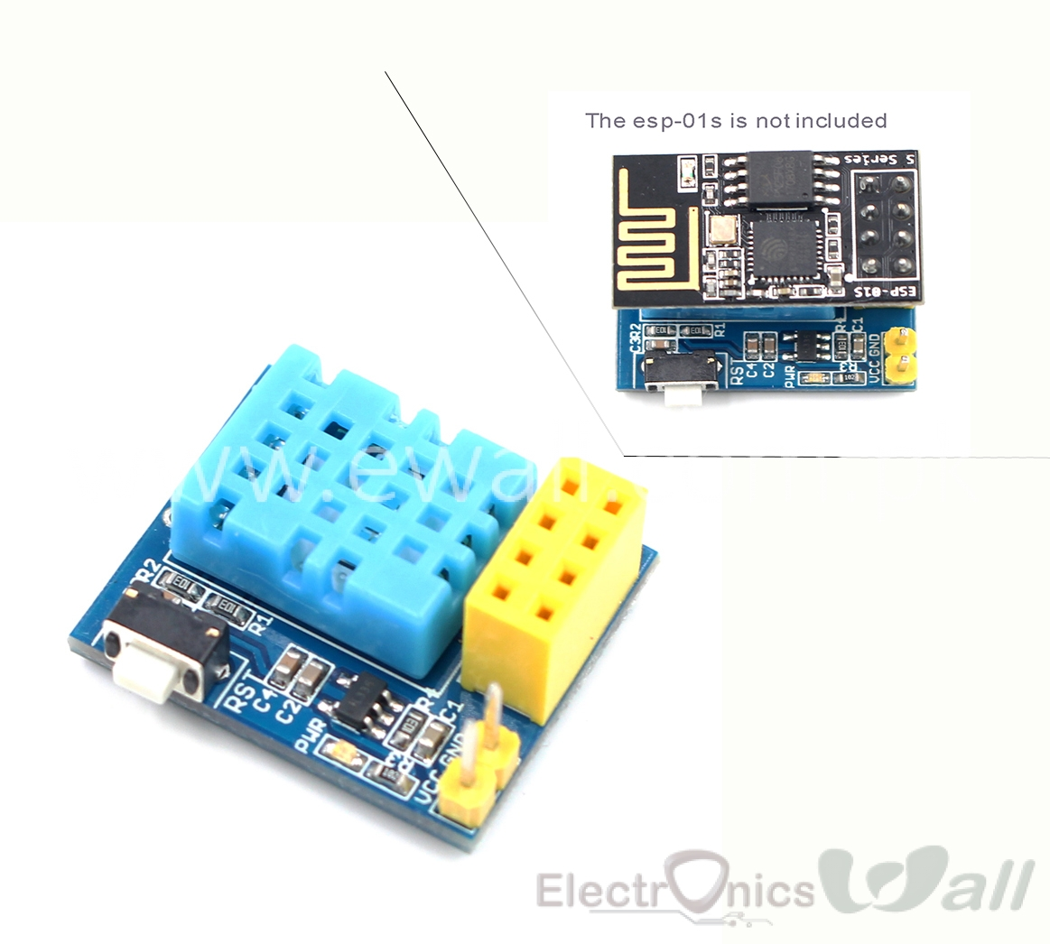 ESP8266 ESP-01 ESP-01S DHT11 Temperature Module for IOT Applications