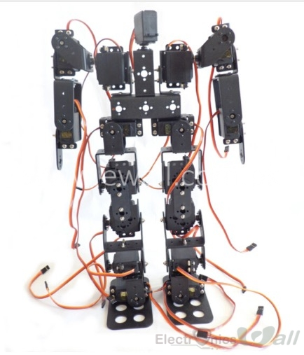 17 DOF Humanoid Robot 40Cm Height