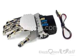 5 Finger Robotic Hand  with Digital Servo Right Side