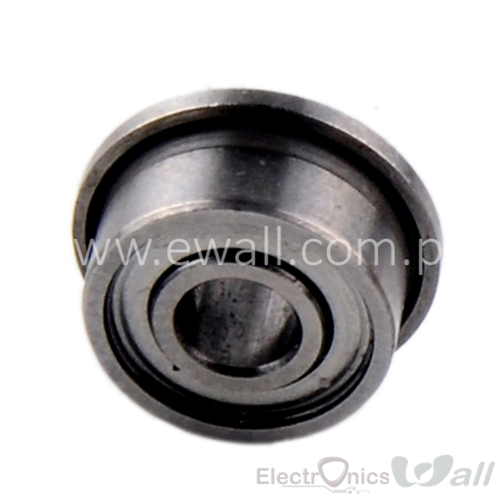 3*8*4 Cup Bearing Miniature Deep Groove Ball Flanged EV 3x8x4