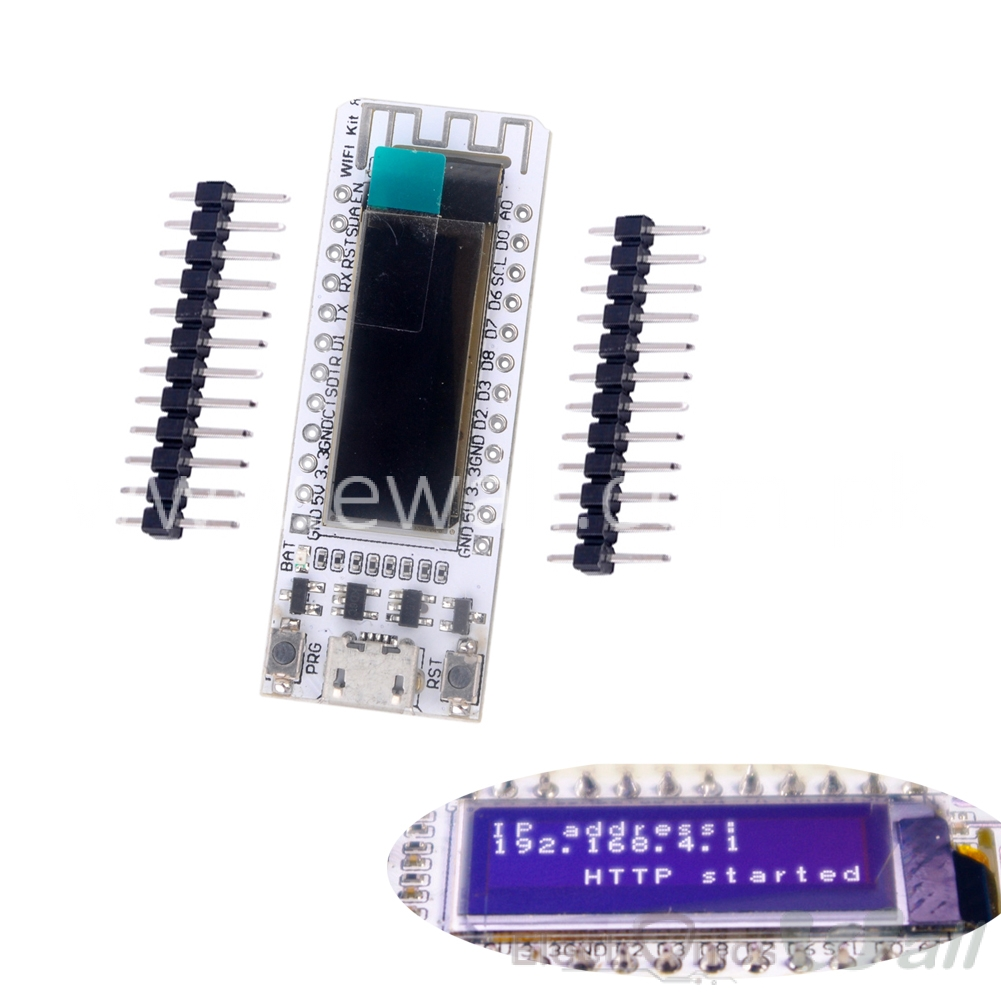0.91 OLED ESP8266 Wifi Kit8 Development Board for Arduino NodeMCU 128X32 White CP2104