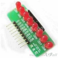 8bits 8Ch LED Module For Debugging I/O Pins or Testing