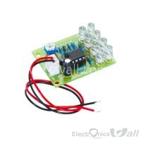 Student Learning LM358 Amplifier LED Kit