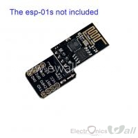 ESP8266 ESP-01 Breakout Board Breadboard Adapter PCB for Serial Wifi Transceiver Network