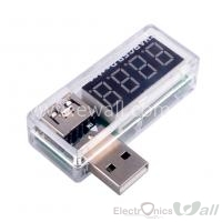 Power Bank and USB Charger Doctor Voltage Current Meter Mobile Battery Tester Power Detector White 3.5V-7V