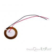 27mm Piezo ceramic element with 100mm cable