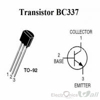 BC337 NPP General Purpose Transistor  TO-92