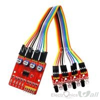 Four Way IR  Infrared Tracking / 4 Channel IR Line Tracking /Following  Module