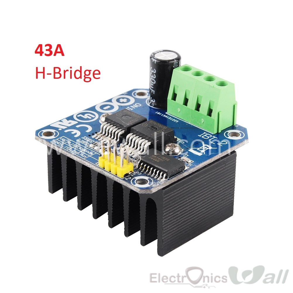 43A H-bridge Highpower Motor Driver Module Double BTS7960