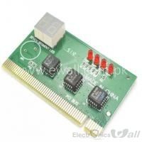 Motherboard Mini Two-digit code Display PC Troubleshooting card Motherboard test Diagnosis card