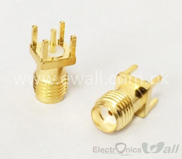 SMA Conenctor SMA Female Jack RF Coax Connector PCB Cable Straight Goldplated
