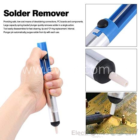 Solder Sucker Desoldering Pump Tool Removal Vacuum Soldering Sucking