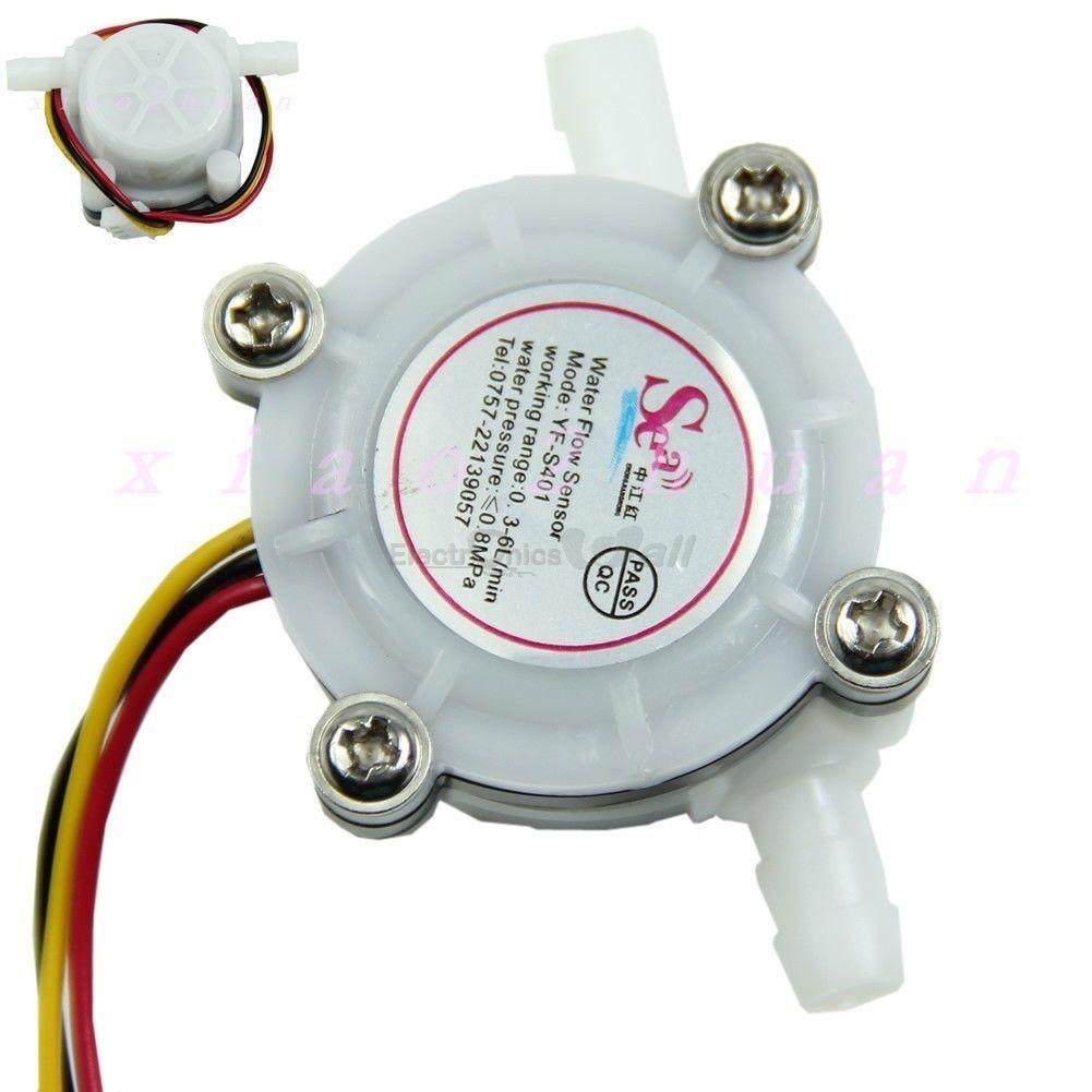 Liquid/Water Flow Sensor Meter (Flowmeter 0.3-6L/min)