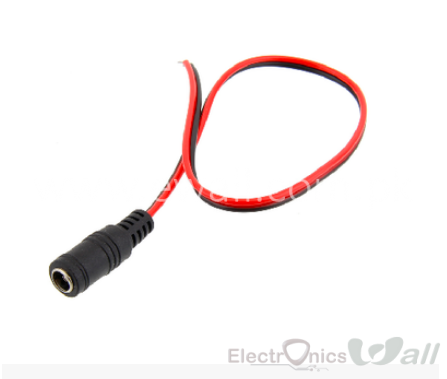 DC Female Connector Power Cord DC 12V Female Line Cable