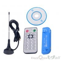 TV USB 2.0 Software Radio DVB-T RTL2832U + R820T2 SDR TV Digital Receptor Stick U40