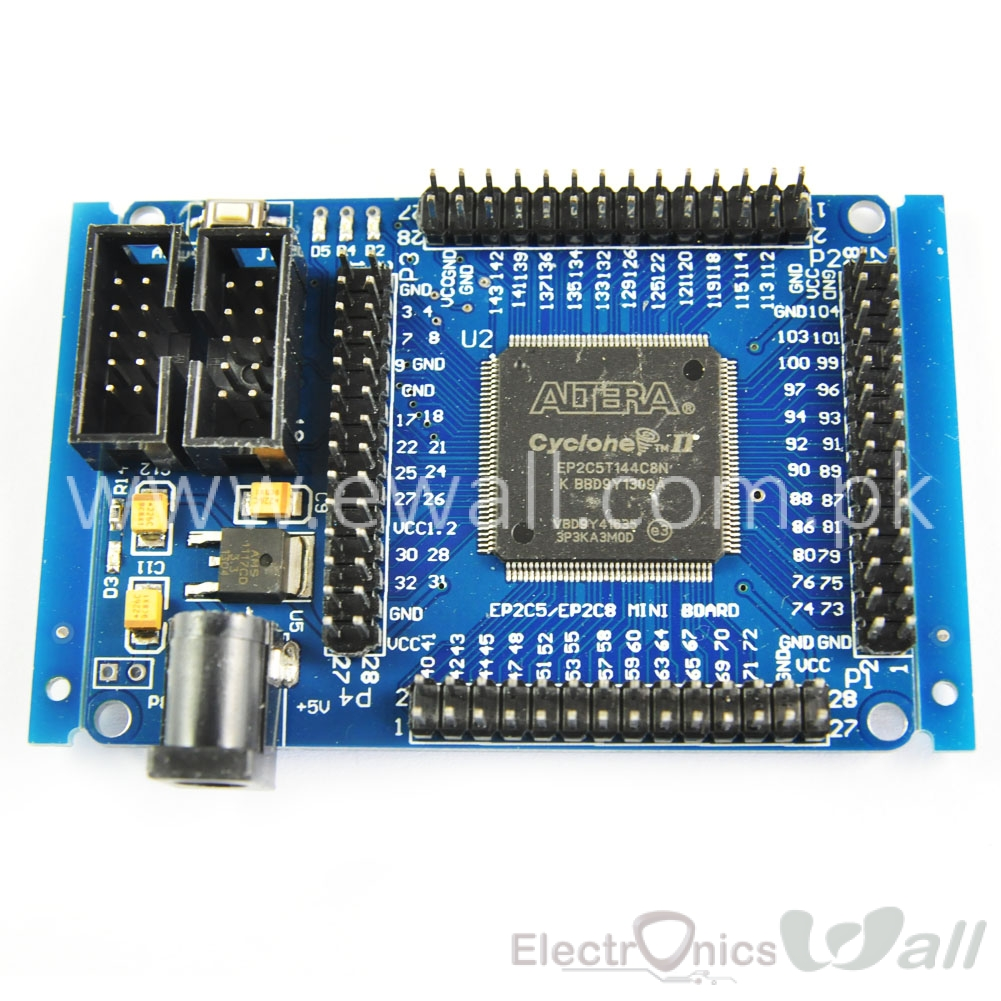 FPGA ALTERA  CycloneII EP2C5T144 Minimum System Development Board For Learning Basic