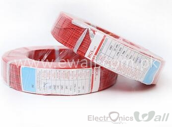1 meter Low Resistance 22AWG Flexible 1007 Wire Electric wire 22 Gauge Coper Hook Up Stranded Wire 300V Red PVC UL