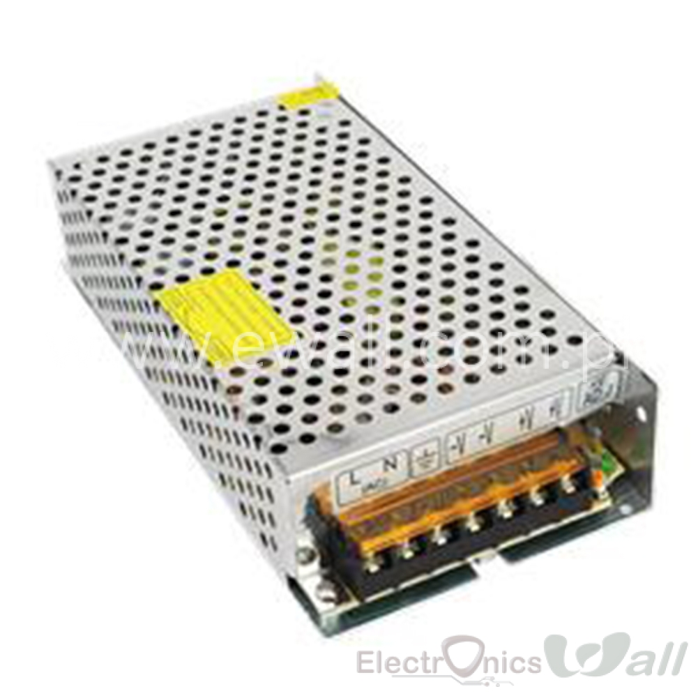 5A 24V 220V AC to DC  S-120-24 Switching Power Supply 90-240VAC to DC24V 5A 120W 199*98*42mm