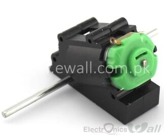 180 DC Motor with Gear Box Reducer Micro Gear Motor Double Shaft