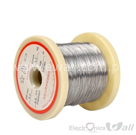 Nichrome Flat Heater Wire 0.1mm/10Meter Depron Foarm Cutting Wire