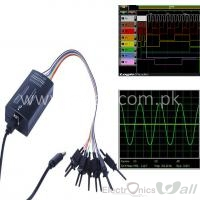 Oscilloscope and Logic Analyzer LHT00SU1 Virtual Oscilloscope 8-ch Logic Analyzer I2C SPI CAN Uart
