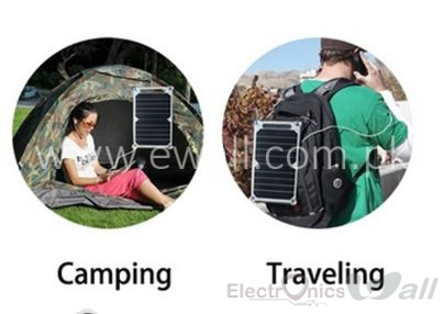 2A 10W 5V Portable Solar Power Panel Charger For Samsung IPhone Tablet Pad