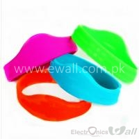 Waterproof RFID Wristband 13.56MHz FM1108 Silicone Proximity Bracelet for Access control/Fitness/Swimming Pools/Water