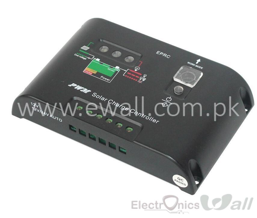 30A PWM Solar Charger Controller SC30A MPPT SDRC  DC12V/24V Auto 30A
