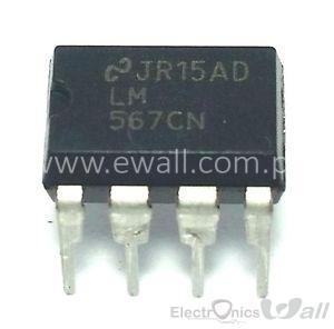 Tone Decoder IC LM567 LM567CN DIP8