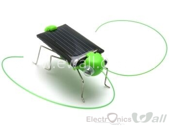 Solar Grasshopper Kids Science Toys Tricky Toys