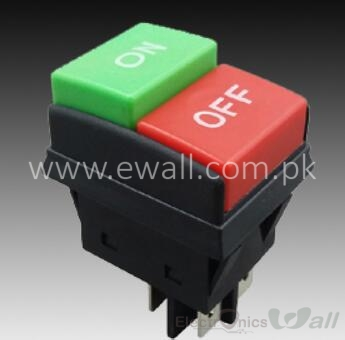ON-OFF Waterproof Boat Shape Switch ( High Quality ) Pushbutton Type