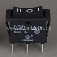 30A 3P Boat Shape Switch Single Row On Off 3 Sates Switch ZH02