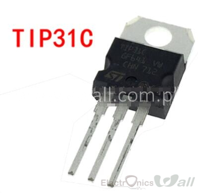3A TIP31C NPN Silicon Power Transistors 3A 100V TO220