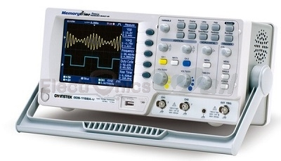 100MHz Dual Channel Instek Digital Storage Oscilloscope GDS-1102A-U