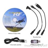 20 in 1 USB RC Flight Simulator Cable For Realflight G6.5 G5 G4 Phoenix