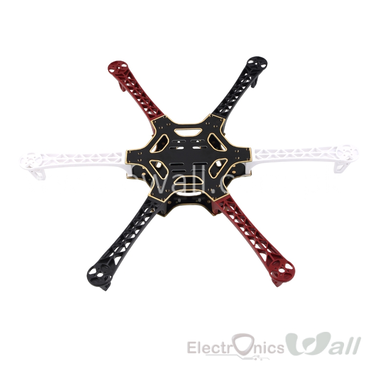 F550 Hexa Copter Frame Mulitcopter Multirotor Frame Motor to Motor 550mm w/ Screw