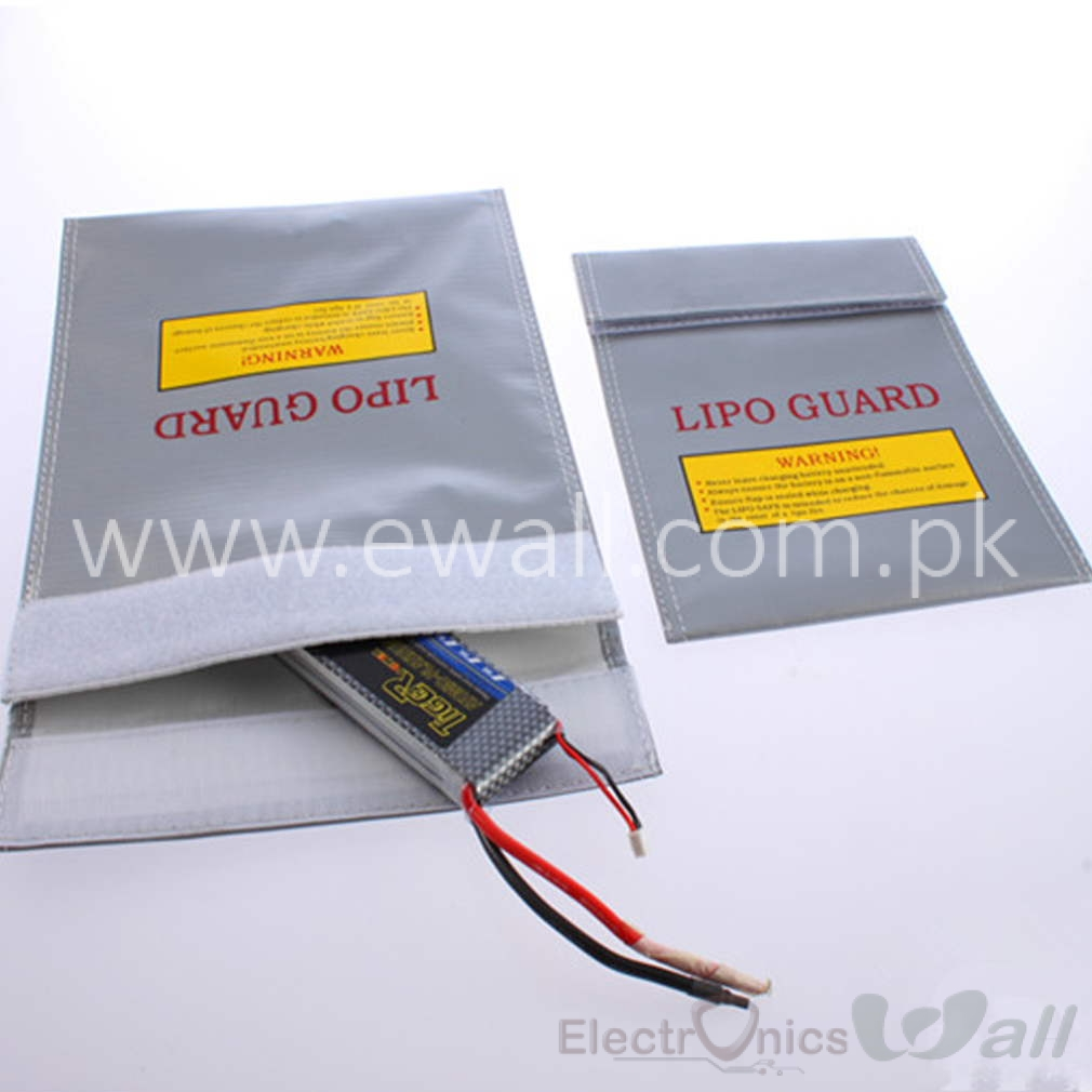 LiPo Battery Safety Bag Safe Guard Charged lipo protection  storage bag