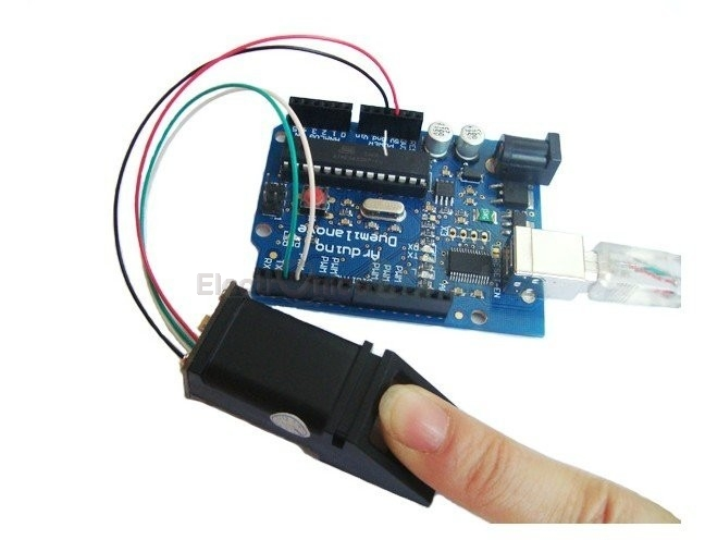 Optical Finger print Sensor Module (Arduino Compatible)